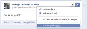 Esconder publicações no Facebook