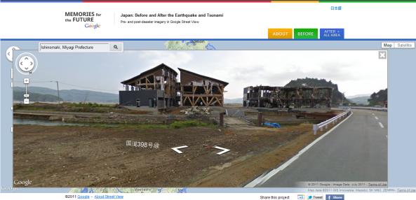Imagens do Japão após tsunami de 2011